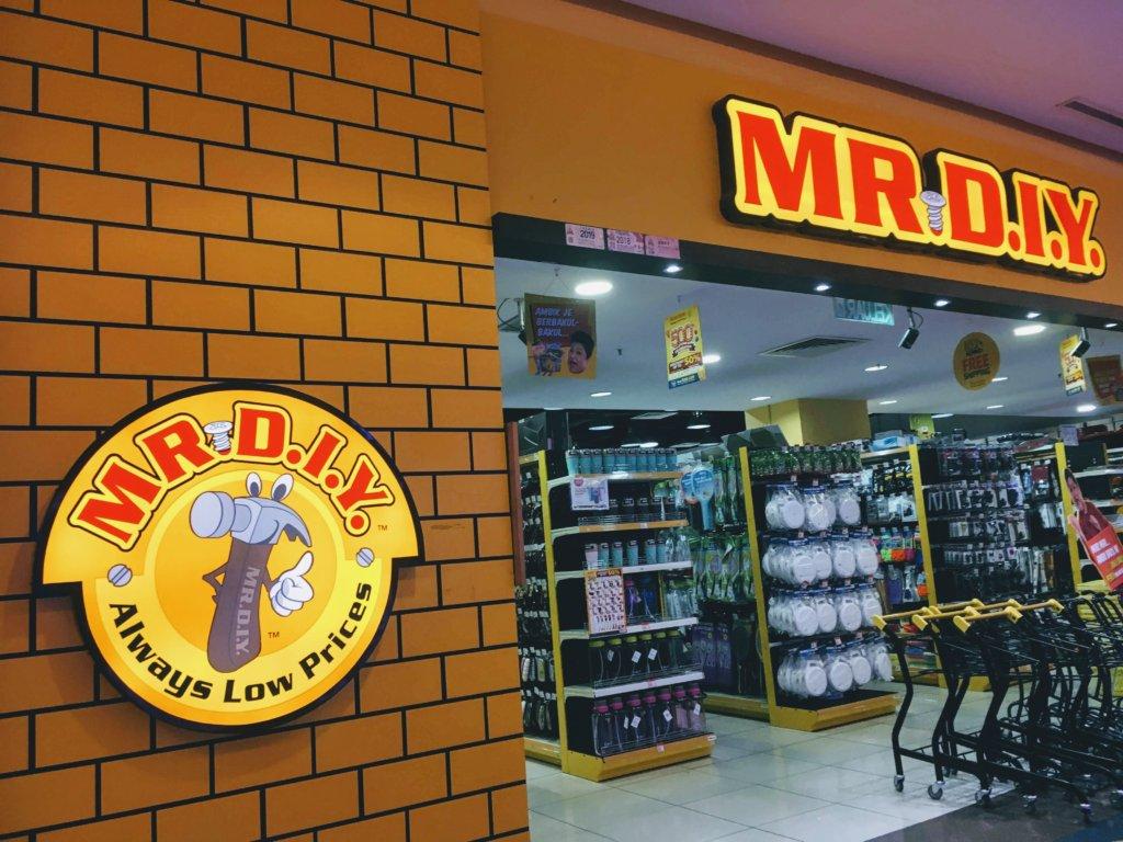 マレーシアのホームセンターMRDIY